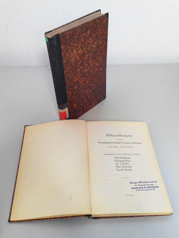 Abhandlungen aus dem Physiologischen Institut Freiburg im: Hoffmann, Paul, Hermann