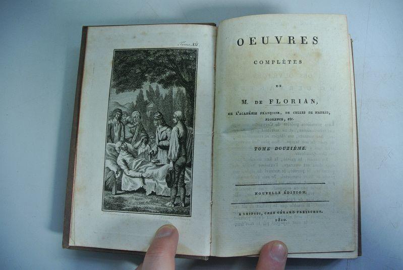 Oeuvres completes de M. de Florian. Tome: Florian, M. de: