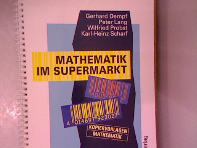 mathematik im supermarkt von dempf - ZVAB