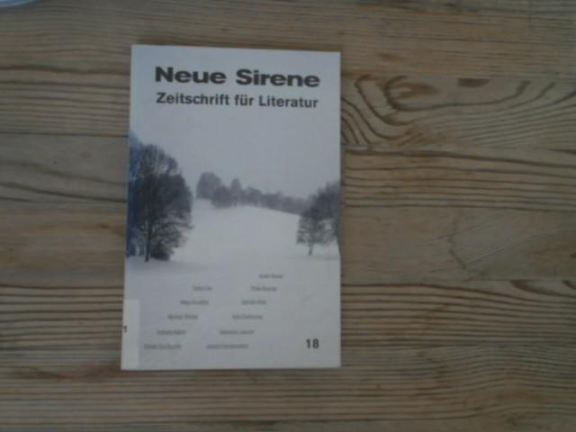 Neue Sirene. Zeitschrift für Literatur, 10. Jg.,: Hohoff, Bettina [Hrsg.]:
