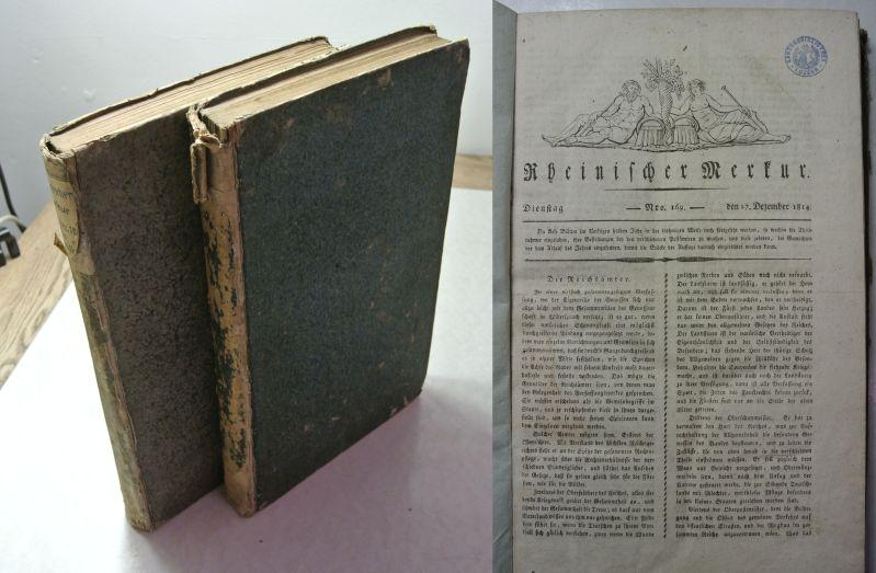 Rheinischer Merkur. Nr. 169 - 203, 205: Görres, Joseph [Hrsg.]: