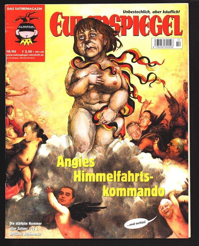 Angies Himmefahrtskommando In Eulenspiegel 10 2005 Magazin Fur