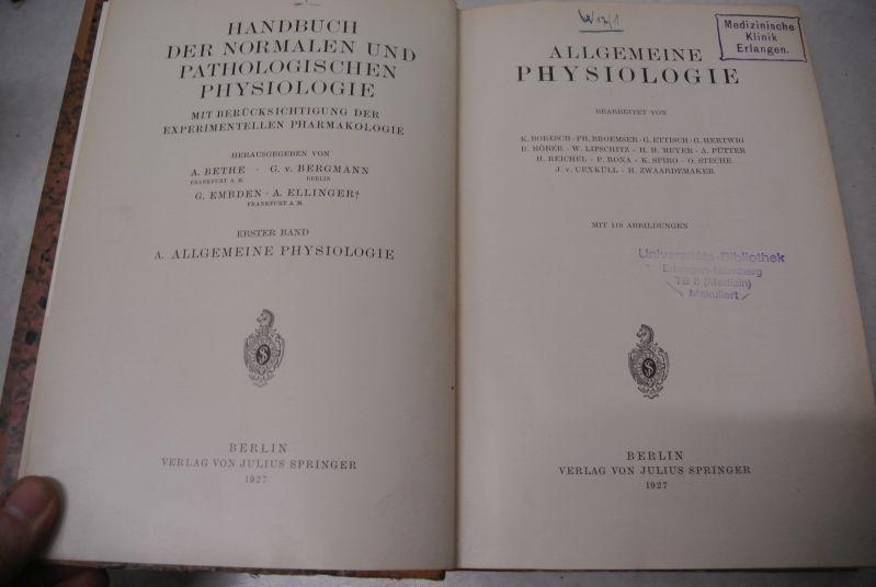 handbuch der pathologischen - ZVAB