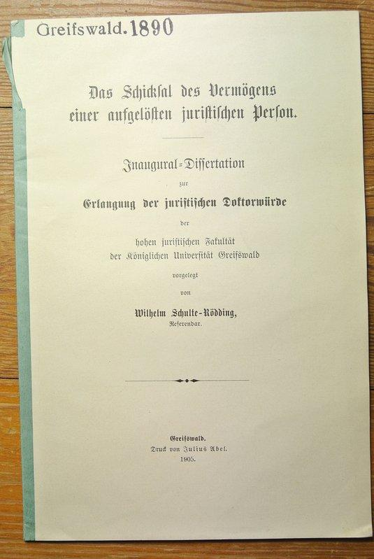 Dissertation franziska schulte