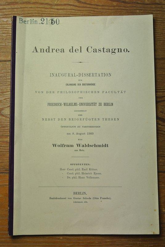Andrea fruth dissertation
