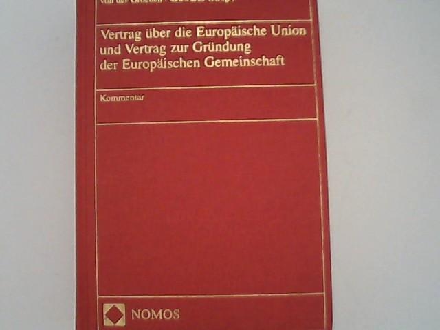 Vertrag über die Europäische Union und Vertrag: Groeben, Hans von
