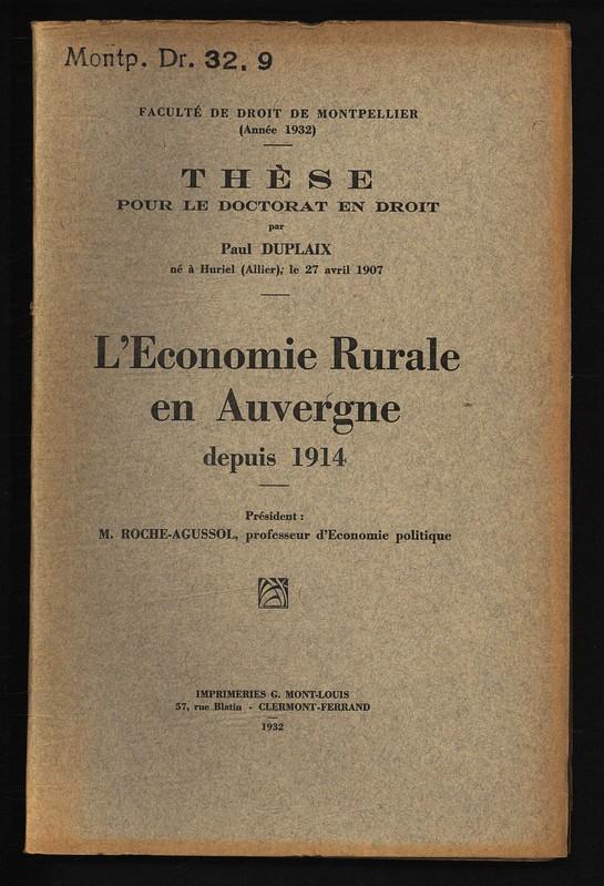Paul duhamel phd thesis