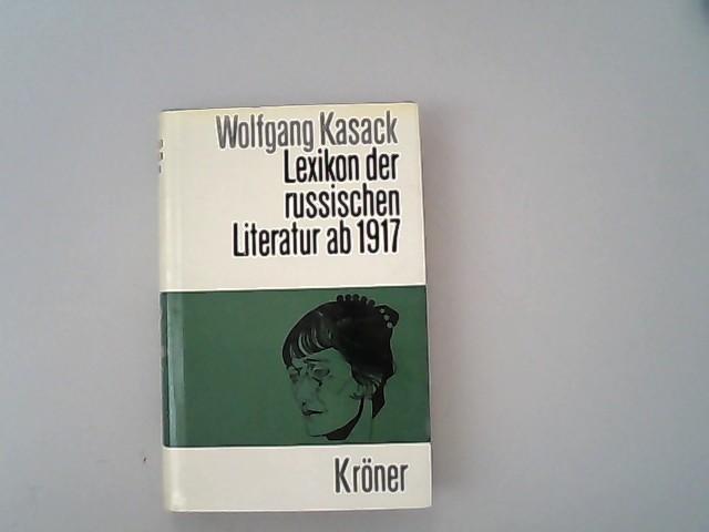Lexikon der sowjetischen Literatur ab 1917.