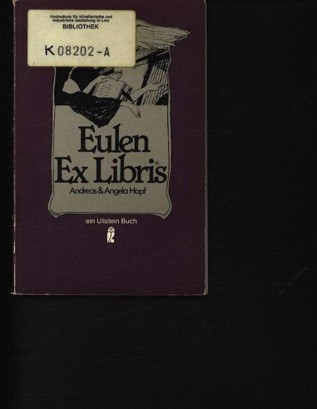 Eulen-Exlibris: Hopf, Andreas: