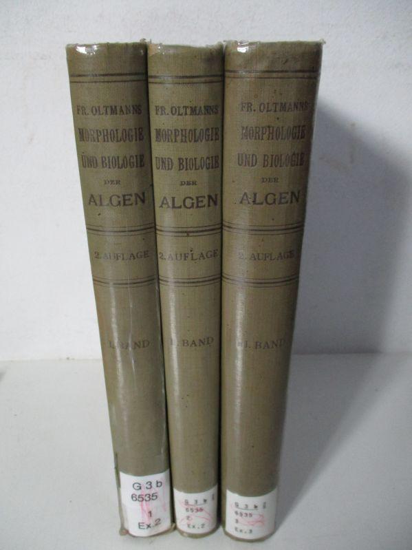 Morphologie und Biologie der Algen. Bände 1: Oltmanns, Friedrich,