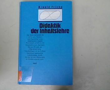 Didaktik der Inhaltslehre. Das Buch behandelt die Lehre vom Flächen- und Rauminhalt unter ...