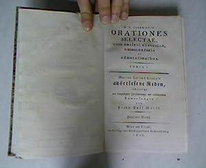 M. T. Ciceronis Orationes selectae, cum analysi rhetorica, commentario et adnotationibus. M. ...