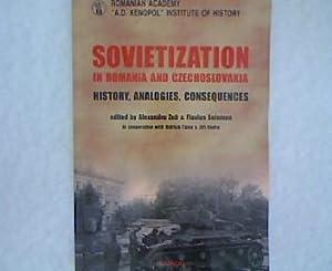 Sovietization in Romania and Czechoslovakia. History, Analogies,: Zub, Alexandru [Ed.]