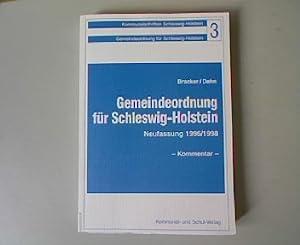 Gemeindeordnung für Schleswig-Holstein: Neufassung 1996. Kommunalschriften Schleswig-Holstein,...