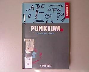 Punktum: Das Sprachbuch 5.: B�cker, Elisabeth u.a.: