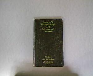 Jahrbuch für Psychopathologie und Psychotherapie : Band 6. Studien zur kritischen Psychologie,...