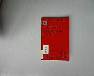 Einführung in die Kybernetik, Band 2. Uni-Taschenbücher, 46.: Gluschkow, V. M.: