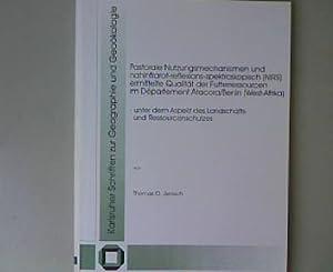 Pastorale Nutzungsmechanismen und nahinfrarot-reflexions-spektroskopisch (NIRS) ermittelte Qualit&...