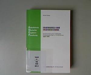 Staatshandeln ohne Staatsverständnis: Die Entwicklung des Politikfeldes Arbeitsbeziehungen in ...