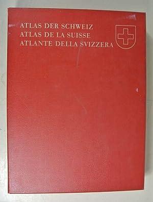 ATLAS DER SCHWEIZ : Herausgegeben im Auftrage des Schweizerischen Bundesrates. Bearbeitet von ...