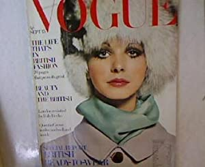 VOGUE ; September 15, 1968. Special Report Britisch Ready-to-Wear Collections