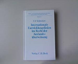 Internationale Entwicklungslinien im Recht der Auslandsüberweisungen: Eine vergleichende ...