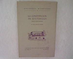 La Constitution de Apatzingan. Estudio Juridico-Historico. Biblioteca Michoacana 4.: Roqueni, ...