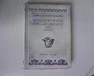 Inscriptiones Graecae in Bulgaria Repertae. Inscriptiones inter: Mihailov, Georgius (Ed.):