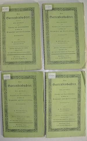 DER GARTENBEOBACHTER. Eine Zeitschrift des Neuesten und Interessantesten im Gebiete der Blumistik ...