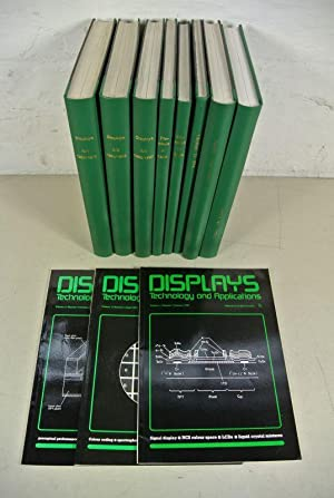 DISPLAYS. Technology and Applications. 14 Volumes/Jahrgänge, Vol. 3 (1982) - Vol. 16 (...