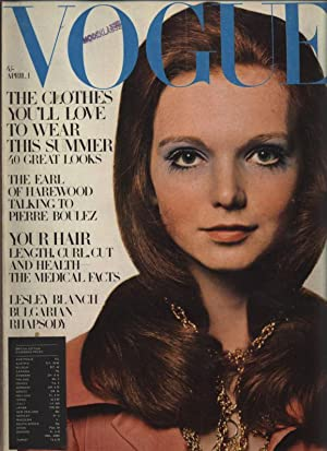 VOGUE, No. 5, April 1st, 1969.