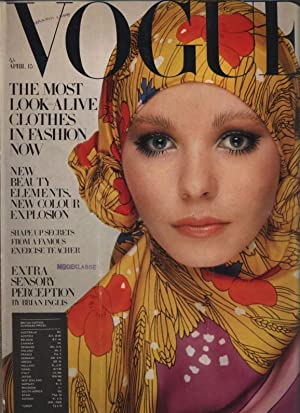VOGUE, No. 6, April 15th, 1969.