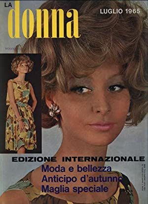 LA DONNA, Num. 7, Luglio 1965, International.