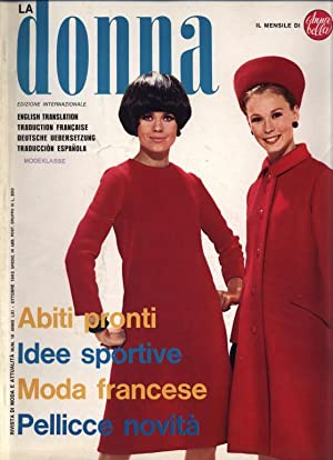 LA DONNA, Num. 10, Ottobre 1965, International.