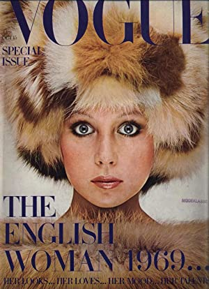 VOGUE, No. 14, October 15th, 1969. London. Special Issue: The English Woman 1969.