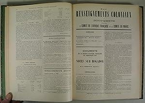 Renseignements Coloniaux et Documents par le Comite de l'Afrique Francaise et le Comite du ...