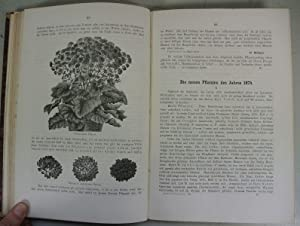 ILLUSTRIERTE GARTEN-ZEITUNG. Eine monatliche Zeitschrift für Gartenbau und Blumenzucht, ...
