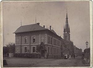 Foto des Pfarrhauses der Kirche SANKT MARTIN in WEINBÖHLA, aus dem Jahre 1899.