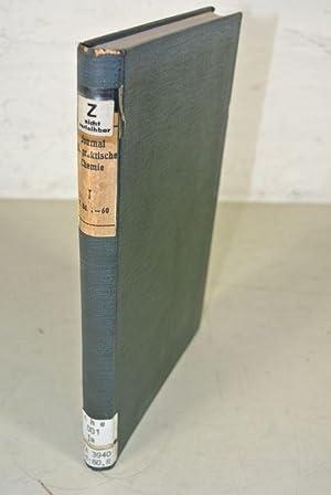 Journal für Praktische Chemie, Sach- und Namensregister zu Band 1 - 30 (1834 - 1843). Reprint....