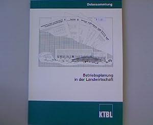 Datensammlung für die Betriebsplanung in der Landwirtschaft.: Ackermann, Ingo: