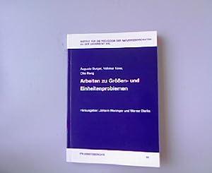 Arbeiten zu Größen- und Einheitenproblemen. IPN-Arbeitsberichte 50.: Weninger, Johann [Hrsg.]:
