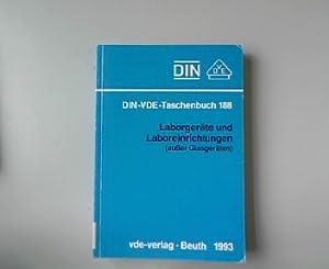 DIN-VDE-Taschenbuch 188. Laborgeräte und Laboreinrichtungen (außer Glasgeräten)