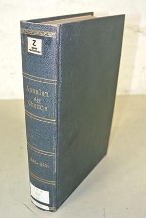 Justus Liebigs Annalen der Chemie, Band 441 und 442 (1925).: Liebig, Justus und Elfriede [bearb.] ...