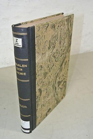 Justus Liebigs Annalen der Chemie, Band 569 und 570 (1950).: Liebig, Justus und Elfriede [bearb.] ...