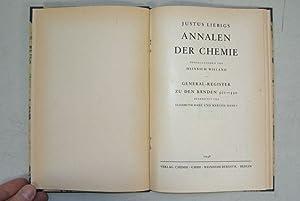Justus Liebigs Annalen der Chemie, Generalregister zu den Bänden 501 - 550 (1948).: Liebig, ...