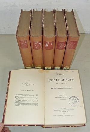 Conferences de Notre-Danme et Retraite de la Semaine Sainte, 6 Volumes/Jahrgänge: 1891 - ...