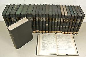 TABUALE BIOLOGICAE, 21 Bände: 1 bis 20 und 22 + Register für Band 1 bis 10.: Oppenheimer,...