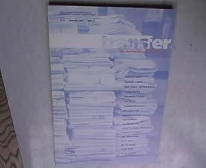 transfer, Die Architektur und ihre Medien, Dezember 2001, Nr. 8: Behrens, Tipje [Hrsg.]: