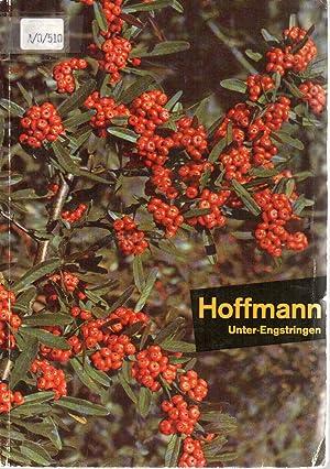 Hoffmann Unter-Engstringen. Hoffmann Gärtnerei.: Hoffmann G�rtnerei [Hrsg.]: