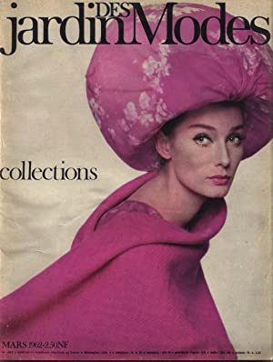 JARDIN DES MODES, Mars 1962. Collections.
